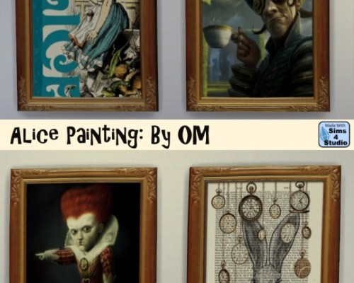 Alice Painting by OM