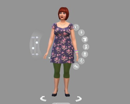 CAS background for Sims 4 in solid medium grey