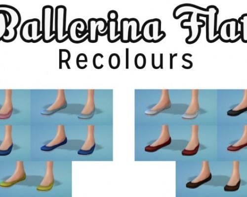 Ballerina Flats Recolours
