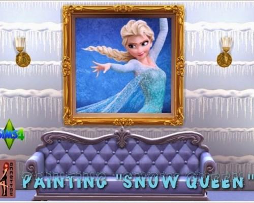 Snow Queen paintings