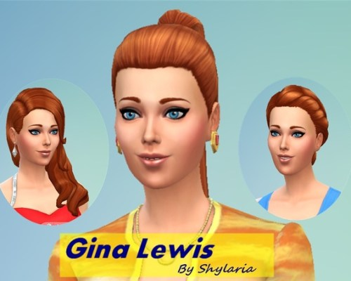 Gina Lewis female model by Shylaria at The