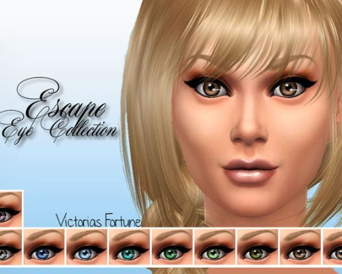 Escape Eye Collection by fortunecookie1