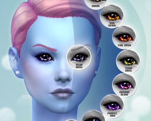Not of This World 10 Custom Alien Eyes by Shady