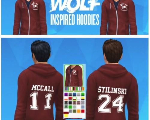 TeenWolf inspired hoodie