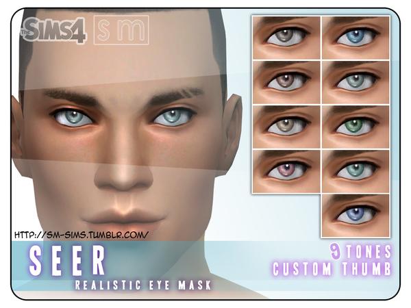 Realistic Eye Mask By Screaming Mustard