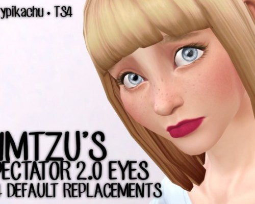 Simtzu's Spectator 2.0 eyes conversion