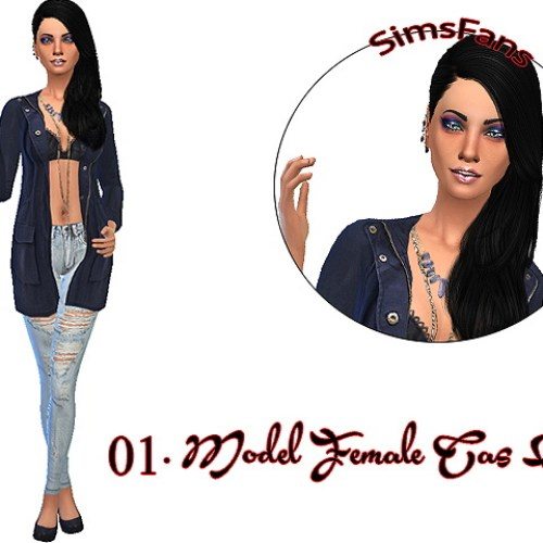 Model Female Gameplay/CAS Poses by Siciliaforever