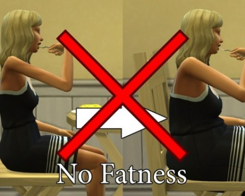 No Fatness / No Muscles MOD by scripthoge