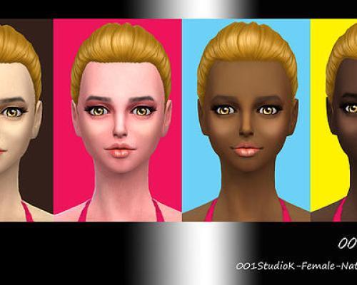Female Skin tone nature texture