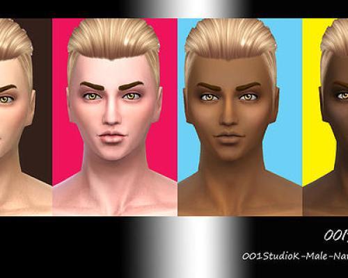 Male Skin tone nature texture