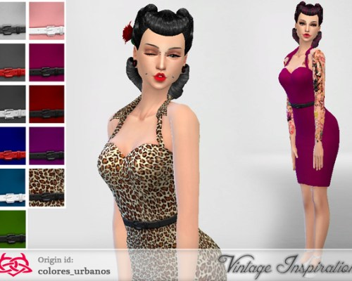 Pin Up dress 01 by Colores Urbanos