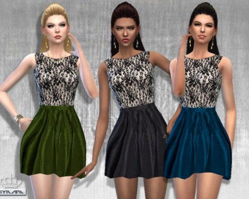 Edis Lace Dress by EsyraM