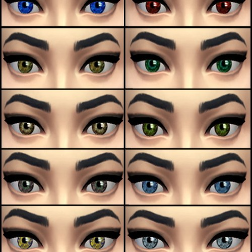 Flash replacement default eyes