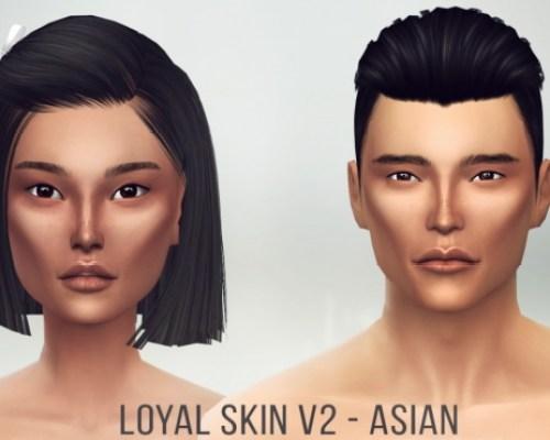 Loyal Skin V2 Asian