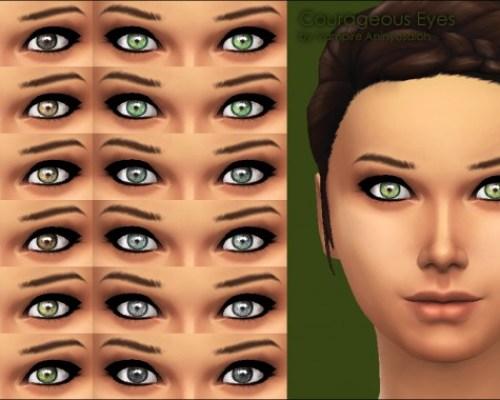 Courageous Eyes by Vampire aninyosaloh