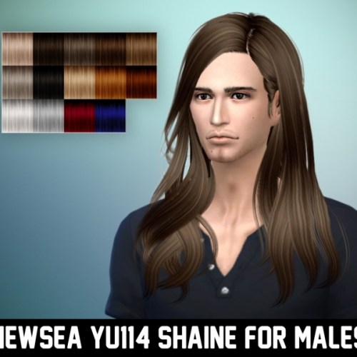 Newsea YU114 Shaine hair for males