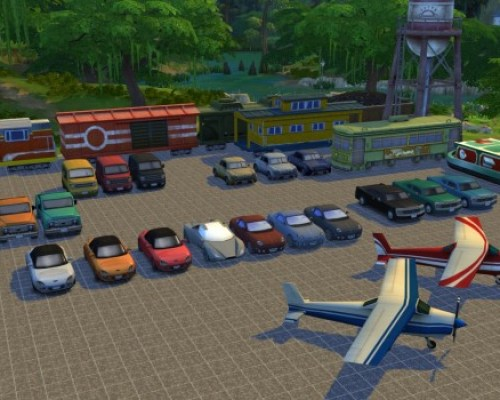 Decorative Vehicles Cheat – Cars, Trains, Planes by TwistedMexi