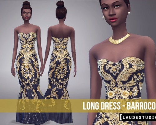Barroco Long Dress