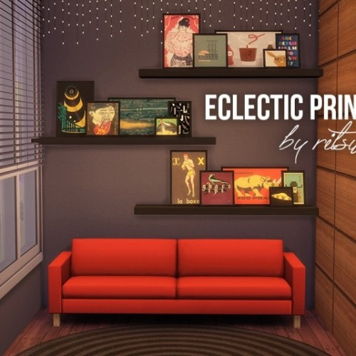 Eclectic prints