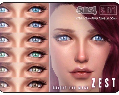 Zest Bright Eye Mask by Screaming Mustard