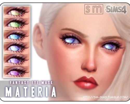 Materia Fantasy Eye Mask by Screaming Mustard
