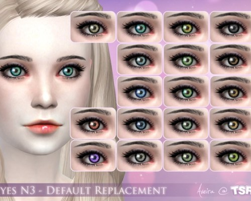 Eyes N3 Default replacement by Aveira