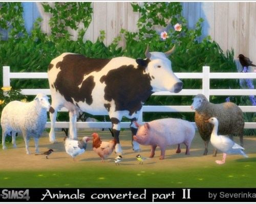 Animals converted part II
