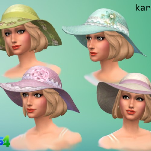 Sun hat by Kardofe