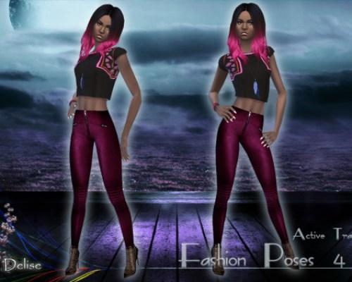 4 fashion poses