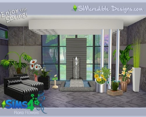 Flora Plants by SIMcredible!