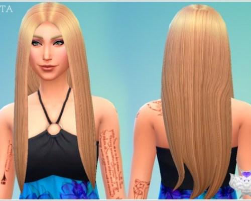 (NEW MESH!) BETA Hair