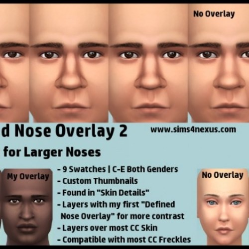 Defined Nose Overlay 2 by SamanthaGump