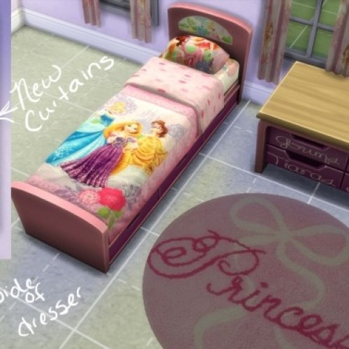 Disney Princess Bedroom Set by ginnawilson