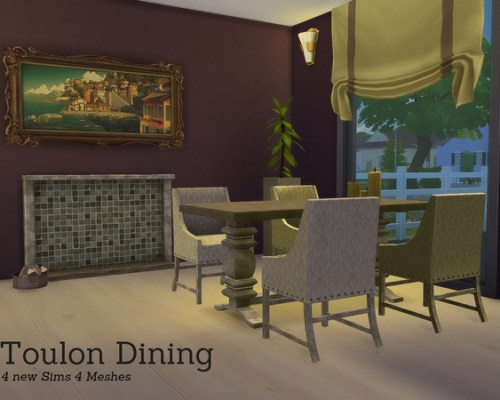 Toulon Diningroom by Angela