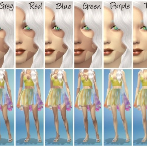 18 Birth Mark Skin Overlays