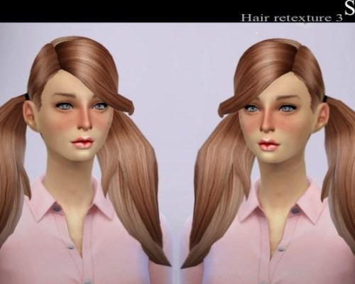 Uktrash Elena Hair Retexture