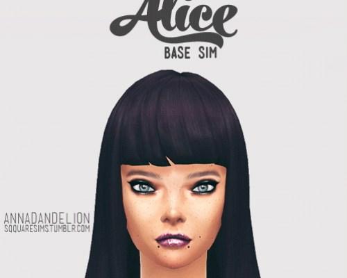 Alice base sim