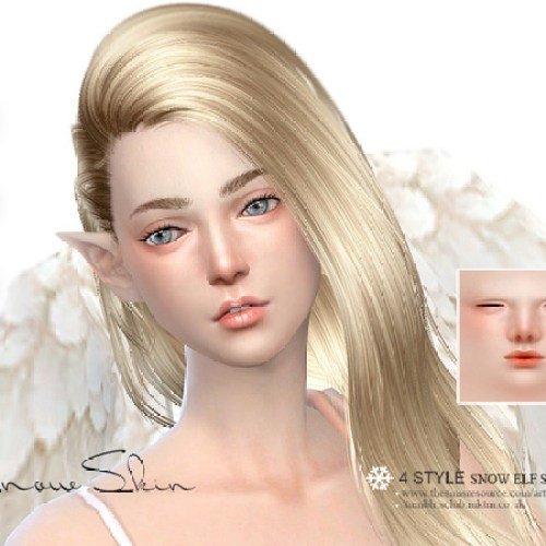 HS Snow Elf skintones (F) 1.0 by S-Club
