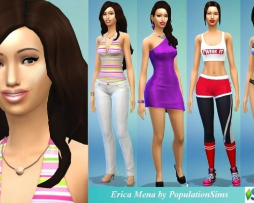 Erica Mena by PopulationSims