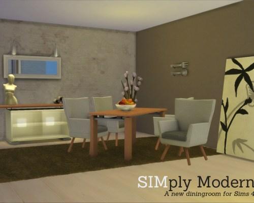 SIMply Modern Diningroom by Angela