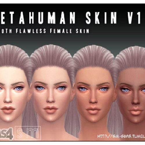 Metahuman V1 Female Skin by Screaming Mustard