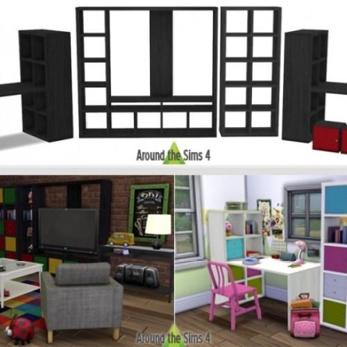 IKEA-like Expedit/Kallax Furniture