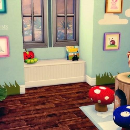Whimsical Playroom by KiaraRawks