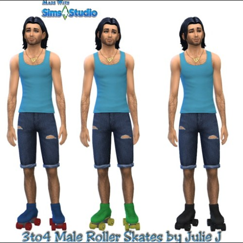 3to4 Roller Skates for Males