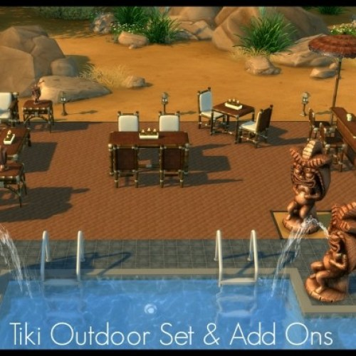 Tiki Outdoor Set & Add Ons by Elias943