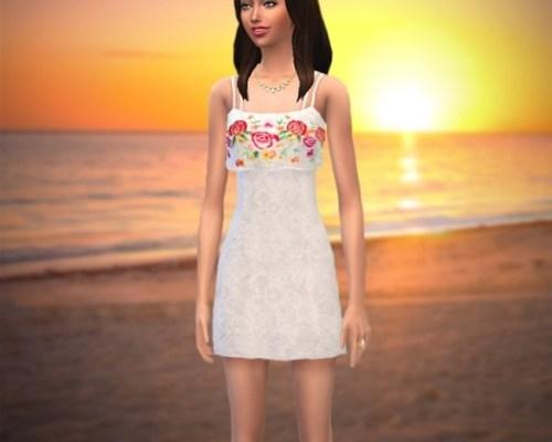 Summer dress non-default by Luciap2