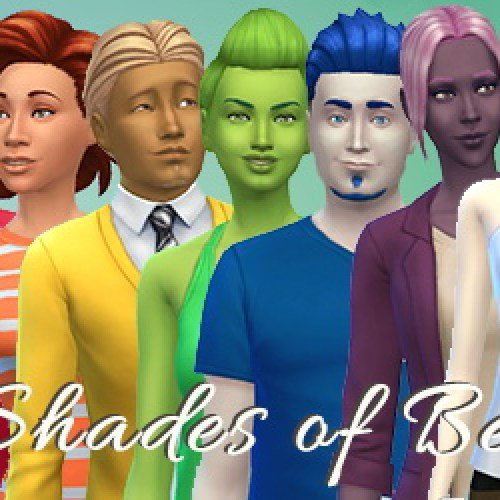 21 Shades of Berries TS4 Skin Detail Overlays