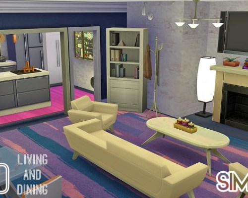 Mod Living & Dining Cosy, warm and spacious