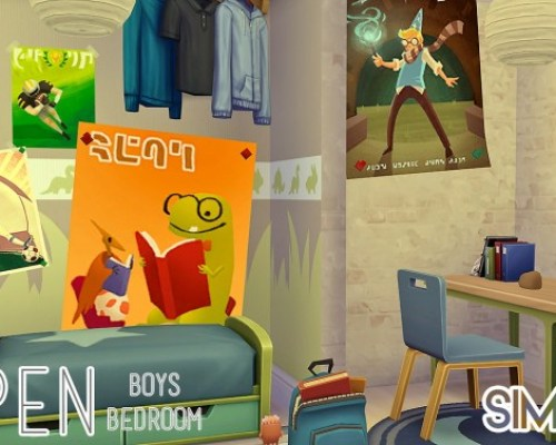 Aspen Boys Bedroom