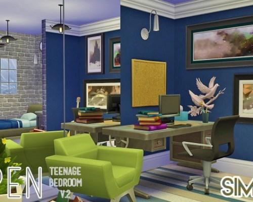 Aspen Teenage Bedroom V.2